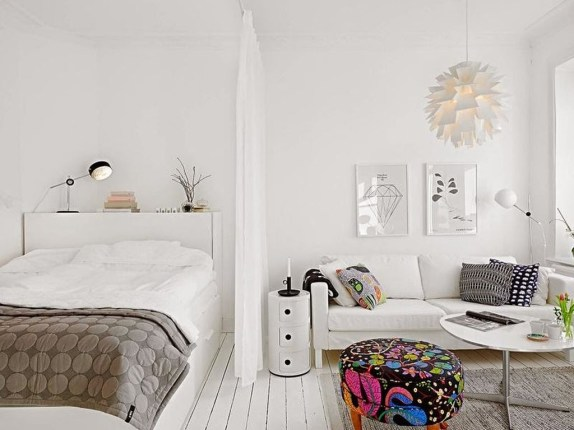 Totally Brilliant Bedroom Design Ideas For Small Apartment 98