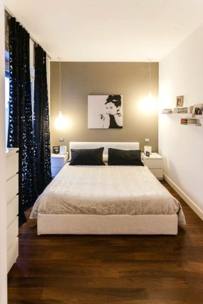 Creative And Brilliant Small Bedroom Decoration Ideas19
