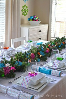 Elegant Christmas Table Decoration Ideas14