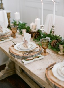 Elegant Christmas Table Decoration Ideas20