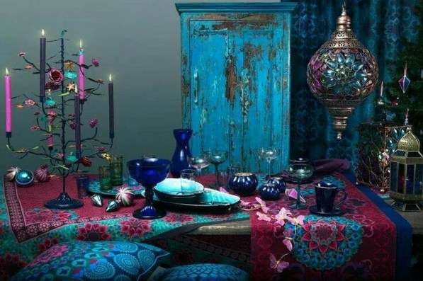 Exquisite Moroccan Dining Room Decoration Ideas07