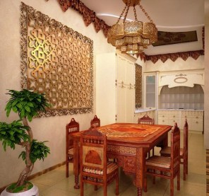 Exquisite Moroccan Dining Room Decoration Ideas25