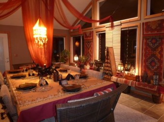 Exquisite Moroccan Dining Room Decoration Ideas32