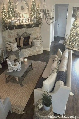 Totally White Vintage Christmas Decoration Ideas17