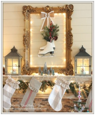 Totally White Vintage Christmas Decoration Ideas26
