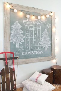 Totally White Vintage Christmas Decoration Ideas31