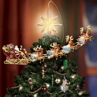 Unique But Inspiring Christmas Tree Toppers Decoration Ideas 20