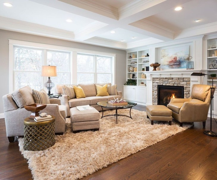 Cozy And Modern Living Room Decoration Ideas 45