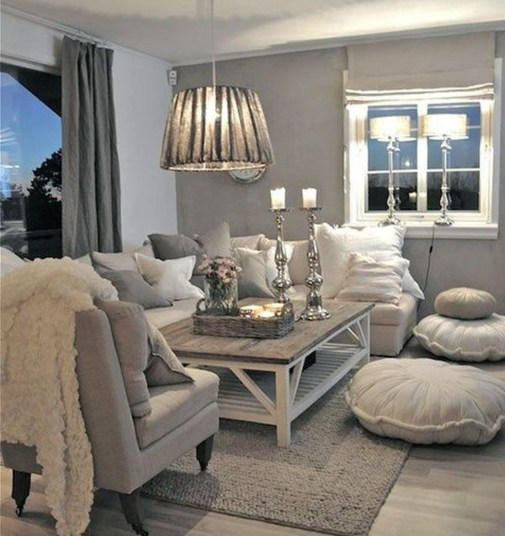 Cozy Neutral Living Room Decoration Ideas 09