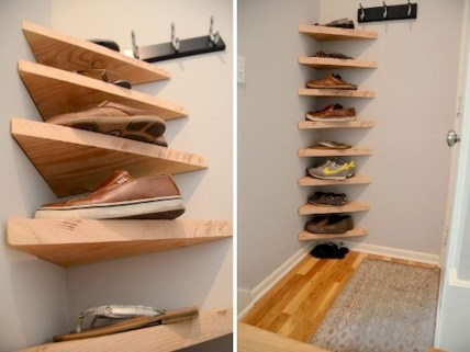 Creative Diy Industrial Shoe Rack Ideas 16