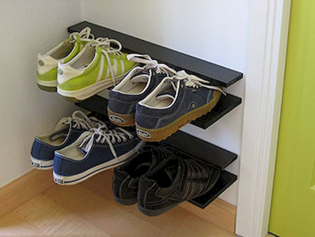 Creative Diy Industrial Shoe Rack Ideas 30