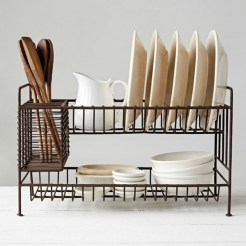 Small And Creative Dish Racks And Drainers Ideas20