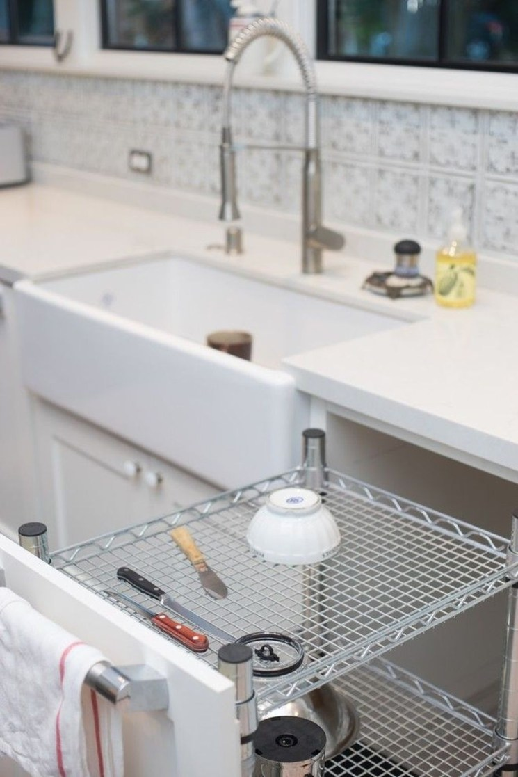 Small And Creative Dish Racks And Drainers Ideas33