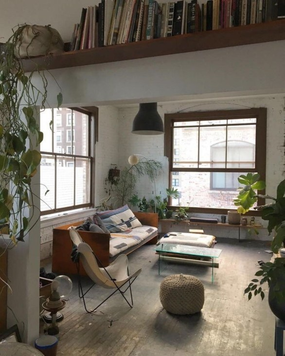 Totally Cool Tiny Apartment Loft Space Ideas 12