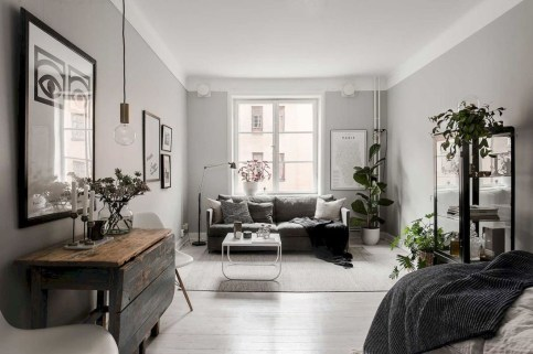 Totally Cool Tiny Apartment Loft Space Ideas 30