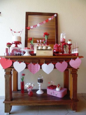 Adorable Valentines Day Party Decoration Ideas 21