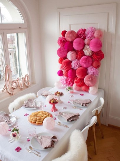 Adorable Valentines Day Party Decoration Ideas 40