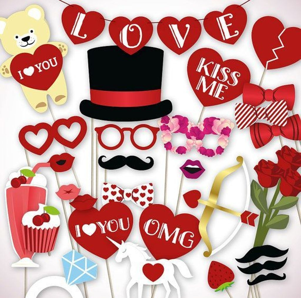 Adorable Valentines Day Party Decoration Ideas 59