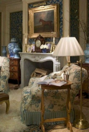 Amazing French Country Home Decoration Ideas 40