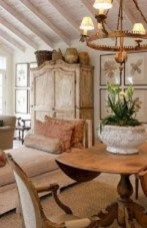 Amazing French Country Home Decoration Ideas 41