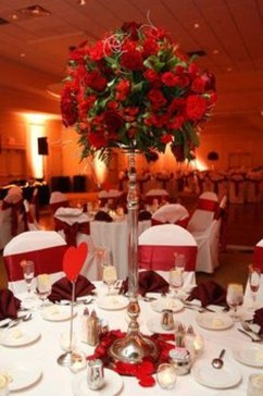 Cute Valentines Day Wedding Decoration Ideas 24
