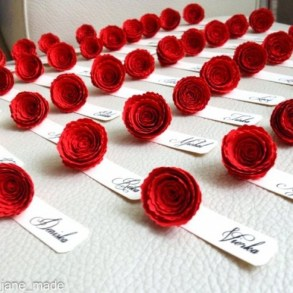 Cute Valentines Day Wedding Decoration Ideas 30