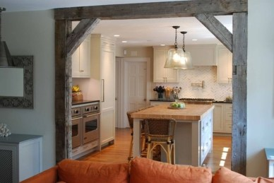 Stylish Rustic Kitchen Apartment Decoration Ideas 46
