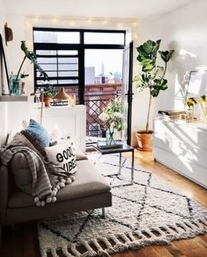 Brilliant Small Apartment Studio Decorating Ideas 34