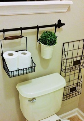 Brilliant Small Bathroom Storage Organization Ideas 08