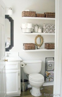 Brilliant Small Bathroom Storage Organization Ideas 14