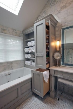 Brilliant Small Bathroom Storage Organization Ideas 15