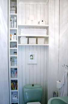 Brilliant Small Bathroom Storage Organization Ideas 38