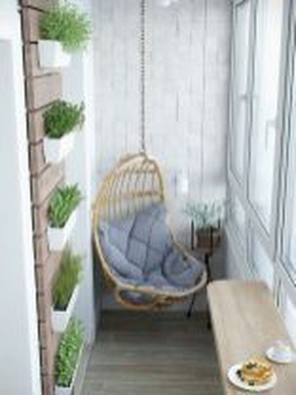 Cozy Apartment Balcony Decorating Ideas 32