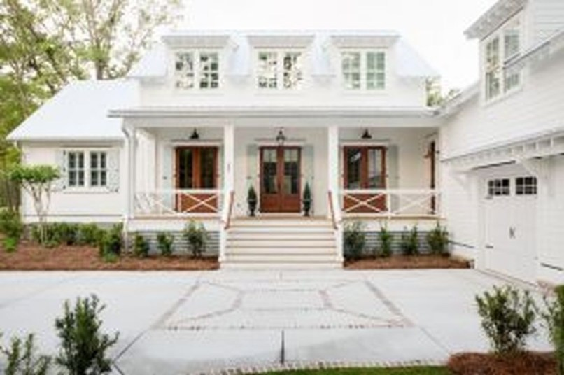 Modern Farmhouse Exterior Designs Ideas 35