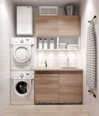 Totally Inspiring Small Functional Laundry Room Ideas 08
