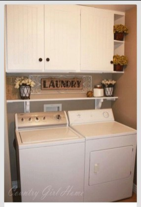 Totally Inspiring Small Functional Laundry Room Ideas 24