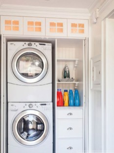 Totally Inspiring Small Functional Laundry Room Ideas 47