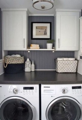 Totally Inspiring Small Functional Laundry Room Ideas 50