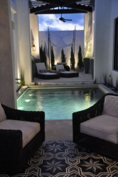 Adorable Small Indoor Swimming Pool Design Ideas 14