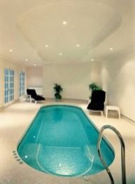 Adorable Small Indoor Swimming Pool Design Ideas 41