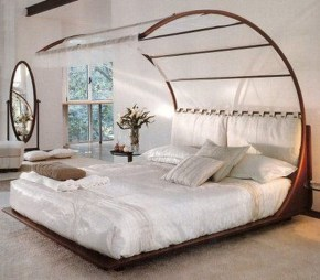 Awesome Canopy Bed With Sparkling Lights Decor Ideas 19
