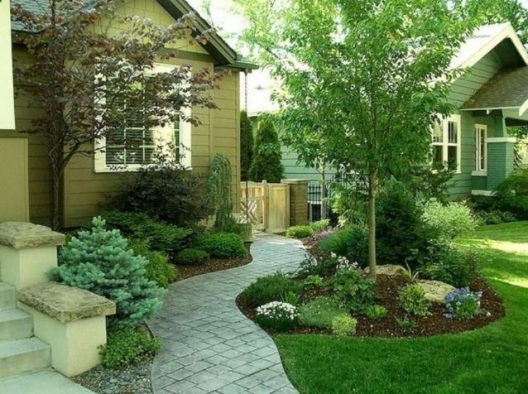 Gorgeous Front Yard Landscaping Remodel Ideas 32