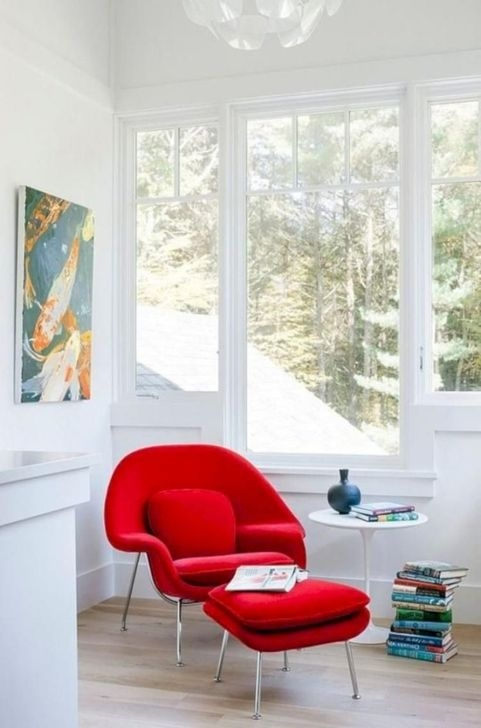 Cheap And Minimalist Red Accent Chair Dining Ideas 01