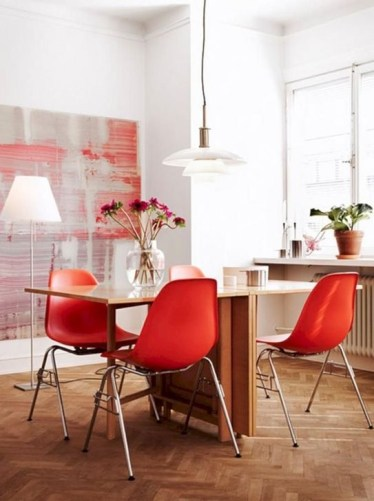 Cheap And Minimalist Red Accent Chair Dining Ideas 38