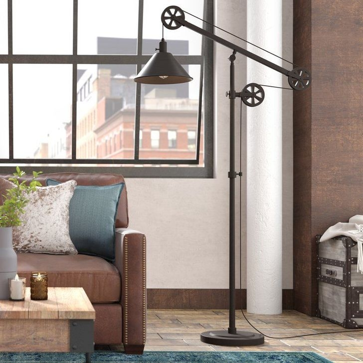 Creative Industrial Floor Lamps Design Ideas 37