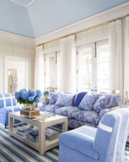 Gorgeous White And Blue Living Room Ideas For Modern Home 25