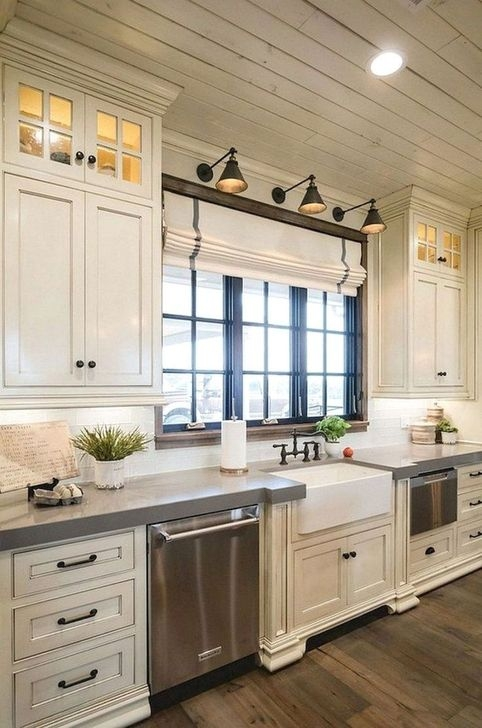 Modern Rustic Farmhouse Kitchen Cabinets Ideas 11