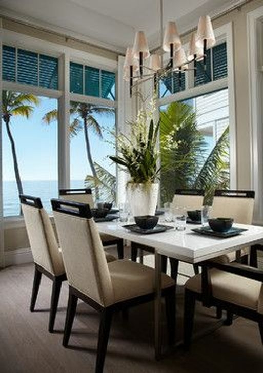 Stunning Beach Themed Dining Room Design Ideas 19