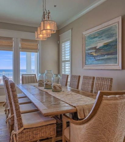 Stunning Beach Themed Dining Room Design Ideas 24