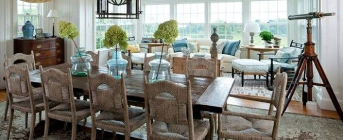 Stunning Beach Themed Dining Room Design Ideas 36